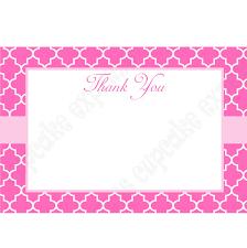 printable thank you cards princess pink princess printable thank you cards 4x6