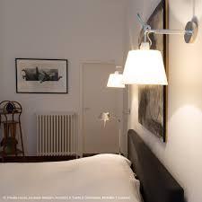 appliques chambre applique orientable halogène ivoire l24cm tolomeo parchemin