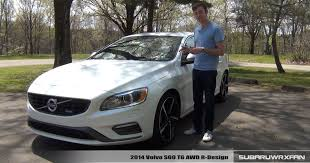 r design volvo review 2014 volvo s60 r design