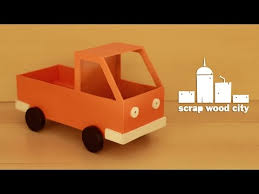 Homemade Wooden Toy Trucks by Diy Wooden Toy Truck Youtube