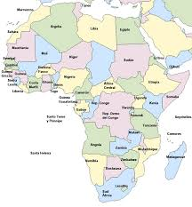 mapa de africa político de áfrica saberia