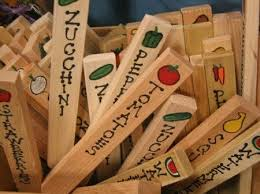 Vegetable Garden Labels by 133 Best Garden Markers Images On Pinterest Garden Markers