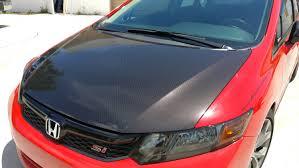 Car Interior Carbon Fiber Vinyl Honda Civic Printed Gloss Carbon Fiber Vinyl Wrap Star Car Wraps