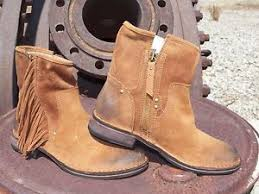 womens ugg boots on ebay womens ugg layne chestnut fringe suede boots all