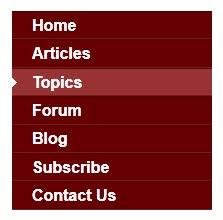 attractive vert one vertical menu bar for blogger blogger trix