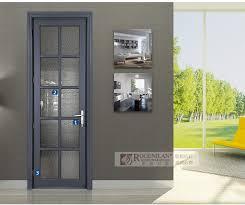 Soundproof Interior Door Rogenilan Commercial Interior Doors With Soundproof Glass Aluminum