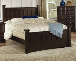 cappuccino finish transitional bedroom set w options