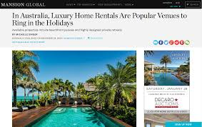 in australia luxury home rentals are popular venues to ring in
