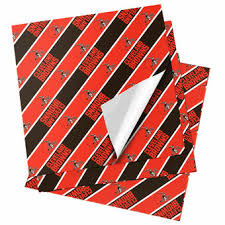 cleveland browns gift wrap browns wrapping paper gift bags