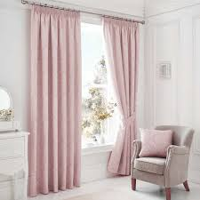 Soft Pink Curtains Pink Curtains 100 Images 2 X Wespa Lined Cotton Eyelet Pair Of