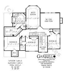 tudor floor plans waterville house plan house plans by garrell associates inc