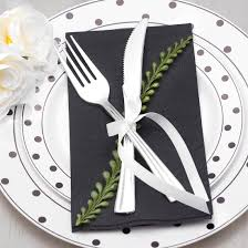 black disposable paper dinner napkins smarty had a party