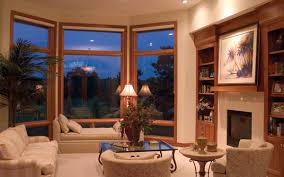 Bay Window Ideas House Plans And More - Furniture placement living room bay window