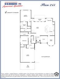 dr horton homes floor plans 213 juniper hunter u0027s cove wylie texas d r horton