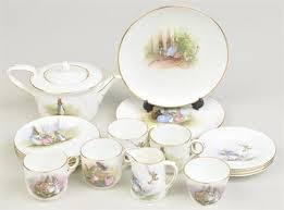 beatrix potter tea set potter beatrix a beatrix potter rabbit tea set by