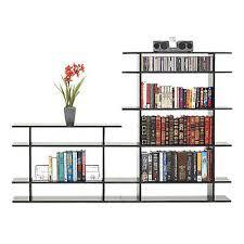6 foot wide classic bookshelf smart furniture