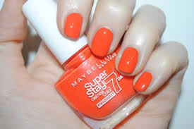 maybelline forever strong super stay 7 day gel nail colour mega