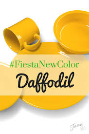 Fiesta Kitchen Canisters Fiesta Dinnerware Introduces Its New Color For 2017 Daffodil