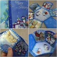 five ways to recycle christmas cards deb u0027s card crafting