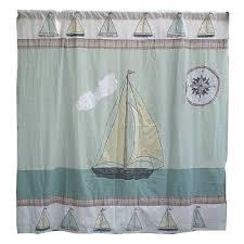 Sailboat Shower Curtains Sailboat Shower Curtain Furniture Ideas Deltaangelgroup