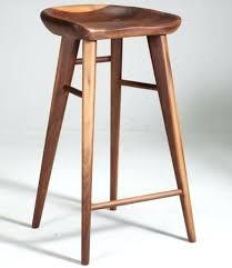 White Wooden Bar Stool Stools Bar Stools Oak Legs Bar Stools Wood And Metal Wooden Bar