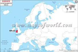 where is wales on the map where is wales location of wales