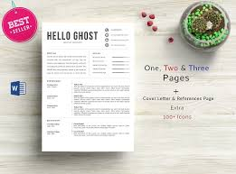 resume format ms word file ghost resume template c o n t e n t s 2 page resume template