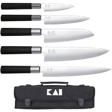 malette couteaux de cuisine mallette 5 couteaux japonais wasabi black achat vente