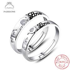 sterling rings wholesale images Wholesale fashion 925 sterling silver rings open resizable love jpg