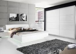 hochglanz schlafzimmer schlafzimmer in sandeiche nb mit abs in weiss hochglanz bett mit