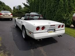 1989 corvette convertible 89 convertible 6spd corvette for sale in hatfield pennsylvania