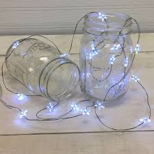 ultra thin wire led lights white star led micro string lights battery operated