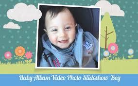 Baby Photo Album Baby Album Video Photo Slideshow Boy Version Original Baby Video