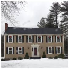 colonial home new england paint color ideas colonial center