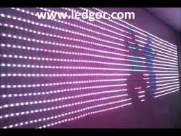 animated led lighting display rgb led programmable