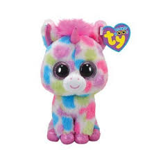 ty beanie boos skylar unicorn justice exclusive glitter eyes