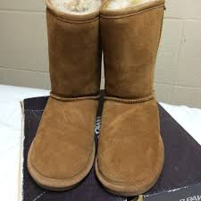 bearpaw womens boots size 9 70 bearpaw boots chestnut brown paw boots from