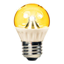 yellow led light bulbs 1 3w led light bulb amber 50 lumens 15w equal