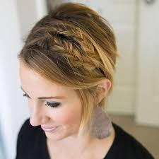 how to cut womens hair with double crown 40 gorgeous braided hairstyles for short hair tutorials and