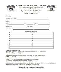 100 sports team registration form template sports clubs