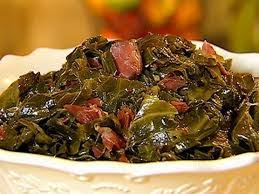 collard greens with smoked turkey and cornbread soul food