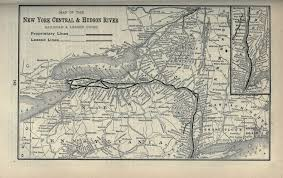 Hudson River Map File 1897 Poor U0027s New York Central And Hudson River Railroad Jpg
