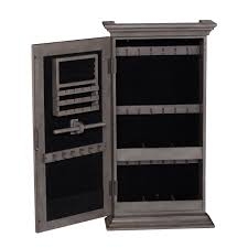 wall mounted jewelry armoire in stock with wall mounted jewelry