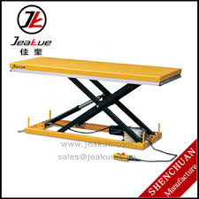motorcycle lift table for sale 500kg large platform hydraulic scissor electric motorcycle lift