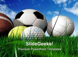 sports powerpoint templates balls sports powerpoint backgrounds