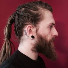 how to do viking hair braids for men simple and creative looks