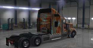 w900 kenworth truck kenworth w900 truck rust american truck simulator mod ats mod