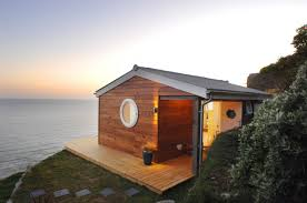 a 1 091 sq ft tiny house with two porches a stunning interior
