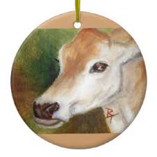 jersey cow ornaments keepsake ornaments zazzle