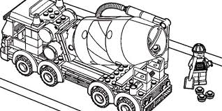 Car Transporter Lego Cement Truck Coloring Pages Best Place To Color Coloring Truck Pages